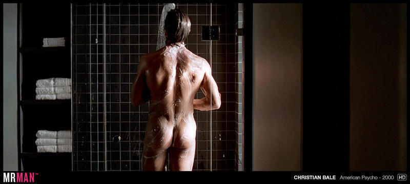 Christian Bale Naked in American Psycho