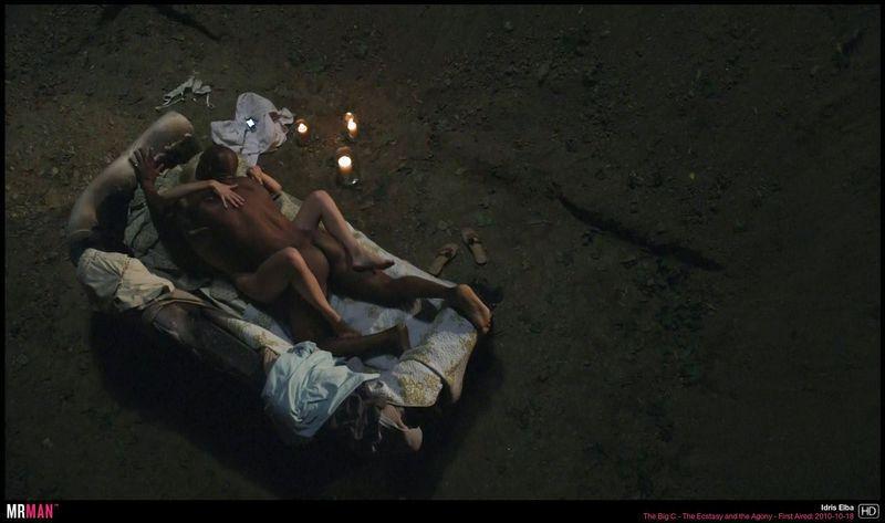 Idris Elba in Thee Big C Nude