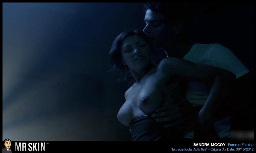 Sandra mccoy naked 1