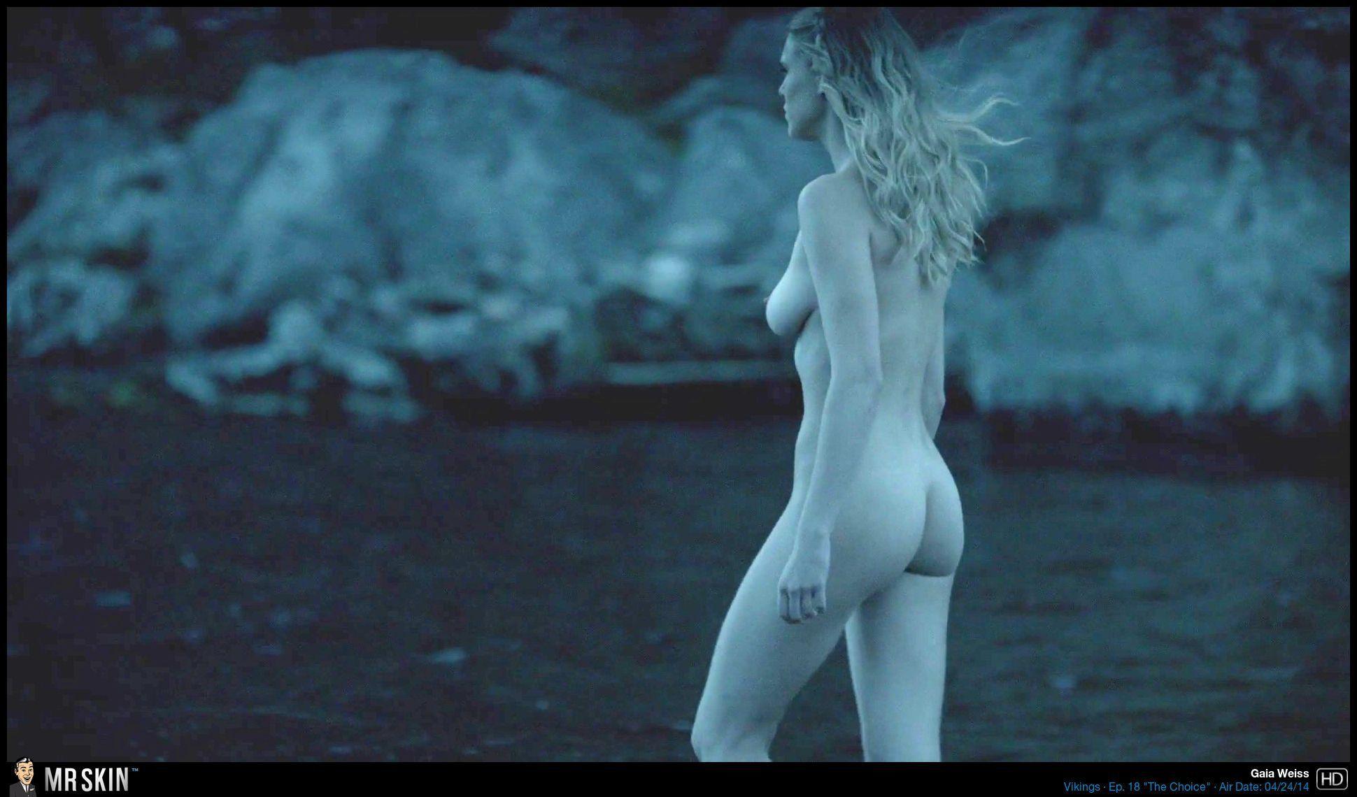 Naked viking